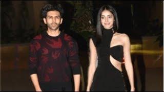 Kartik Aaryan Takes GIRLFRIEND Ananya Panday On A Valentines Date
