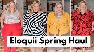 Eloquii Spring Plus Size Haul + Try On