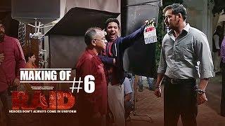 Making of Raid #6 - On Location | Ajay Devgn | Ileana D