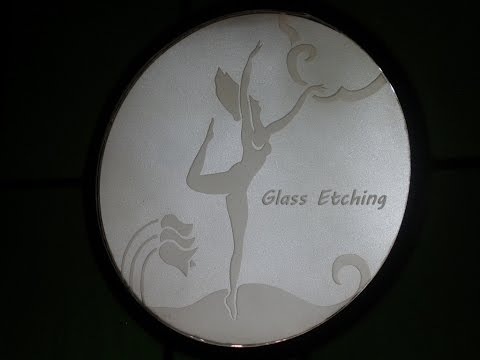 Glass Etching made Easy