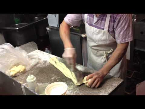 Unbelievable Hand-Pulled Noodle Making