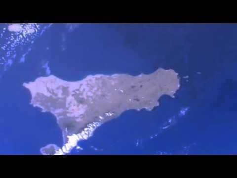 Sardinia,Sicily - Sardegna,Sicilia ISS Earth Viewing Experiment