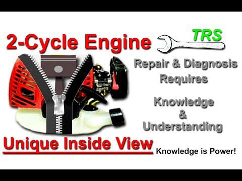 Journey Inside the Two Stroke Cycle Engine (Fuel Tank to Exhaust) crash course