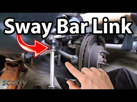 How to Stop Car Clunks (Sway Bar Bushing and Links)