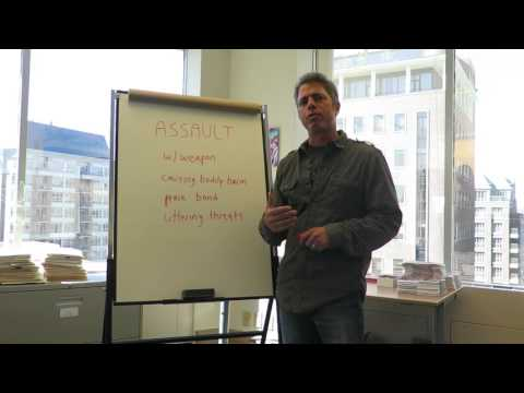 How to Remove an Assault Charge in Canada