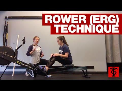 Rower (Erg) Technique
