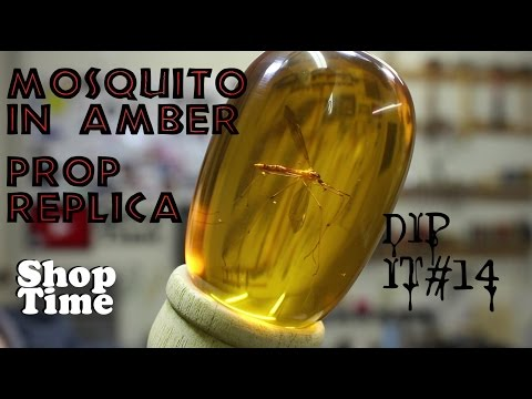 DipIt #14: Mosquito in Amber Prop Replica