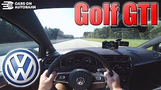 0-250km/h | Vw Golf Gti Performance | Pov- Acceleration And Top Speed Test ✔