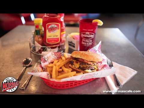 Double Bacon Cheeseburger at Norma's Cafe