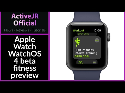 WatchOS 4 Beta 1 fitness feature review