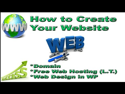 How to create website Free