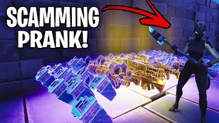 I tried out for the RICHEST scamming clan  ! *i got in