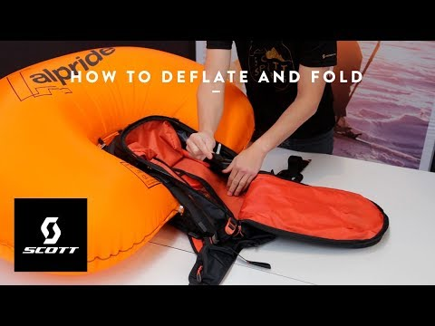 Alpride 2.0 system - How to deflate and fold