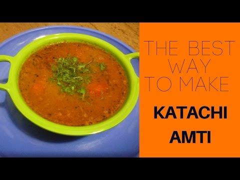 कटाची आमटी | Katachi Amti | Recipe by Rashmi Satam