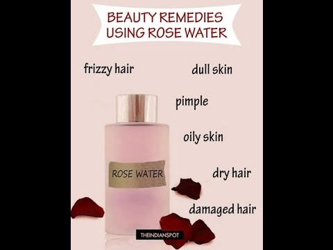 How to make rose water at home  use as a face mist or aromatherapy