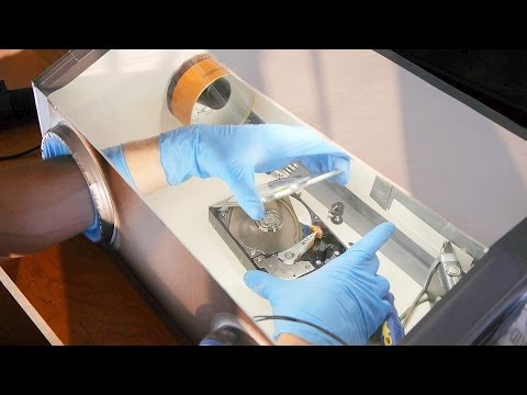 How to Make a Clean Air Enclosure (for HDD repair etc)