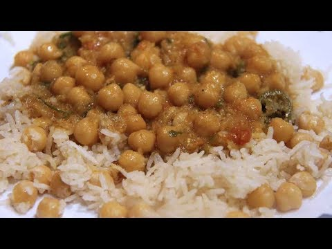 Chanay Ka Salan For Rice   Chickpea Gravy   Garbanzo Beans   Pakistani/Indian Recipe