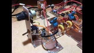 DK7IH Homemade vintage style QRP SSB transceiver 14MHz/20m