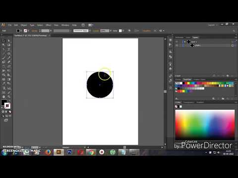 How to create radial gradient mesh using with Adobe illustrator CS6