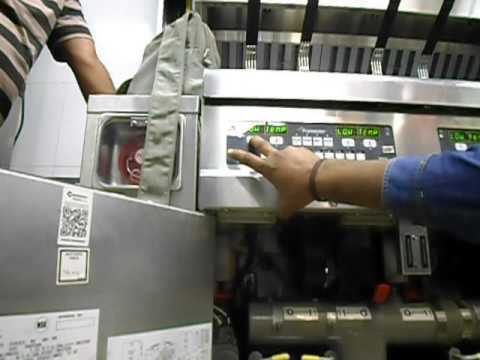 Testing of commercial fryers