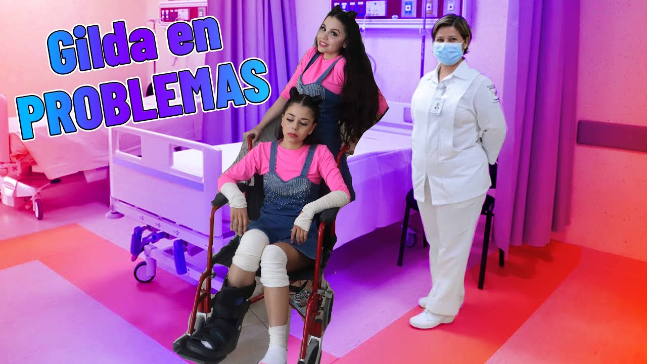 Gilda TIENE UN ACCIDENTE👩🦽 - Me rompo la pierna 😭/Gaby y Gilda
