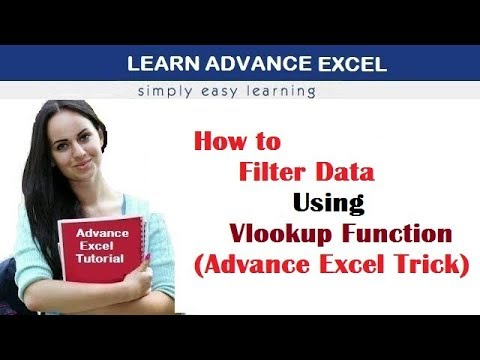How to FILTER DATA USING VLOOKUP FUNCTION(Advance Excel Trick)