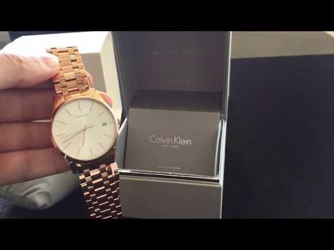 Unboxing of Calvin Klein K4N21646 Swiss Watch