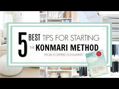 KonMari 2018   5 BEST Tips for Starting the Method!