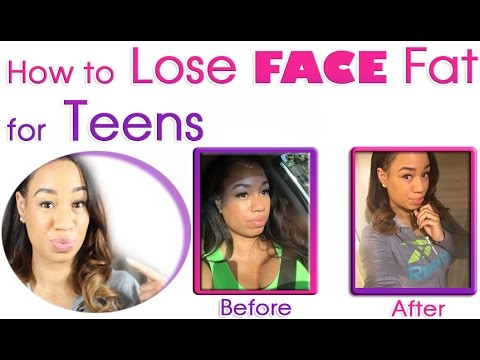 How to Lose Face Fat for Teenagers