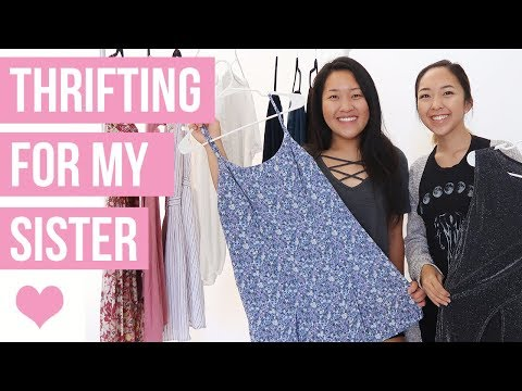 Thrifting For My Sister | Secondhand Clothing Haul