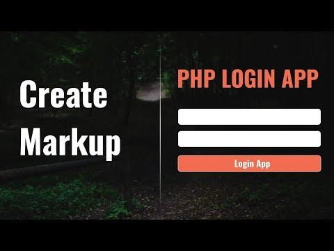 Create Markup | PHP Login App in Hindi Urdu | vishAcademy