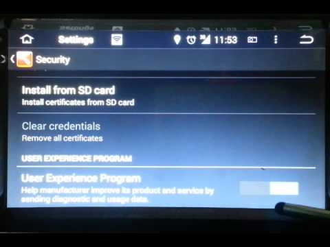 Android 4.4 Setting Menu Introduction 2-Powered by WITSON