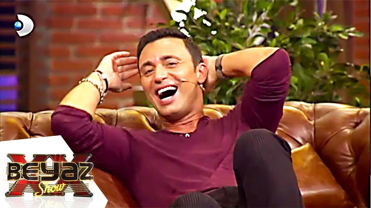 Beyaz'dan Mustafa Sandal'a Komik Hediye - Beyaz Show