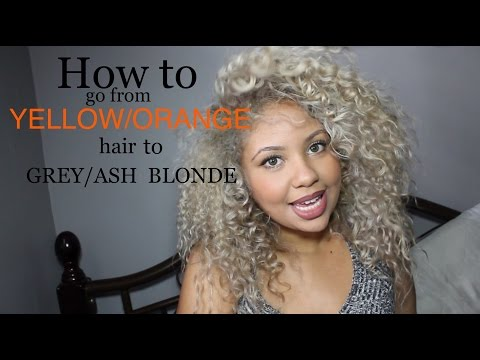 HOW TO get rid of brassy/orange hair