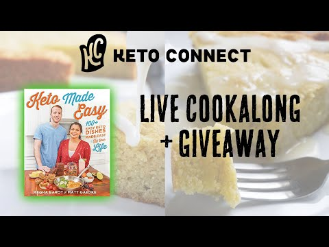 Cookbook Giveaway And Making Keto Granola