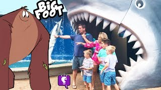 BIGFOOT on VACATION in Hawaii! Cruise Trip Part 2 by HobbyKidsTV