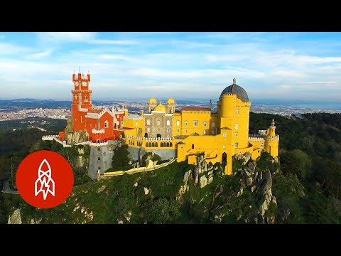 Explore Portugal's Castle of Many Colors