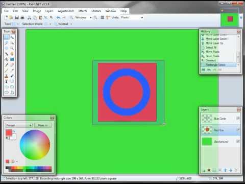 2 of 6 -- Paint.Net Layer Basics