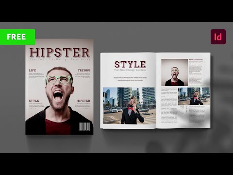 FREEBIE Hipster Magazine Template