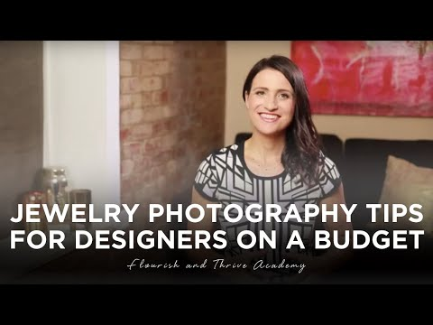 Jewelry Photography Tips for Designers on a Budget