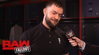 Finn Bálor sends a mysterious message to Bray Wyatt: Raw Fallout, July 24, 2017