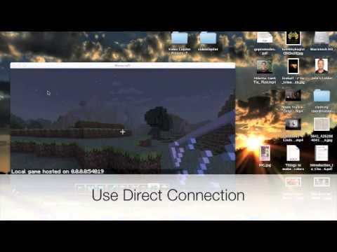 Minecraft LAN Tutorial Mac