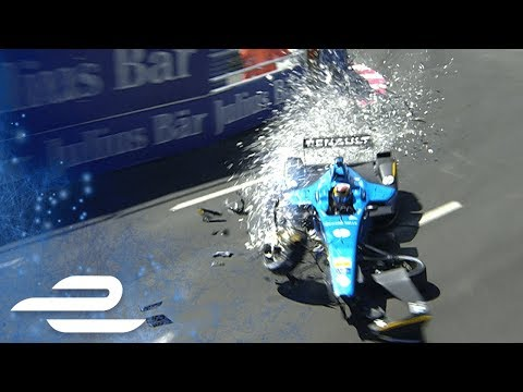 Best Crashes, Spins, Slides & Saves Compilation: Montreal ePrix 2017