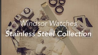 Windsor Watches Stainless Steel Watch Collection