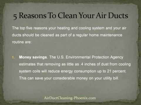 Top 5 Reasons to Clean Air Ducts in Your Home