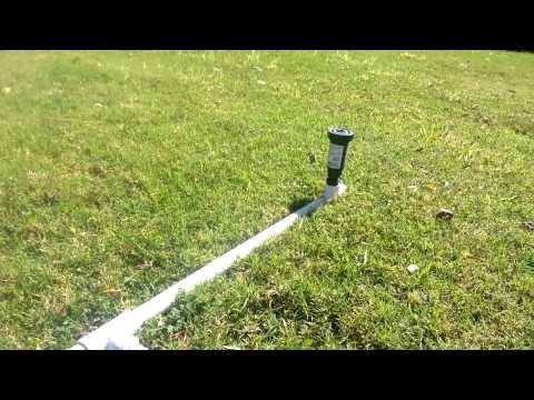 PVC Lawn Sprinkler