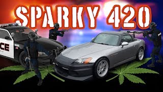 Crops - Sparkys2k Busted For Smoking In Turn 7 At Pir On 4/20/2017