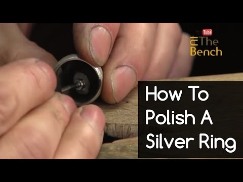 How To Polish A Silver Ring - Making a Silver Ring - Making Your Own Jewellery