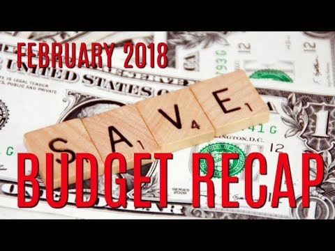 February 2018 Budget Review | THE CAR BLEW UP!