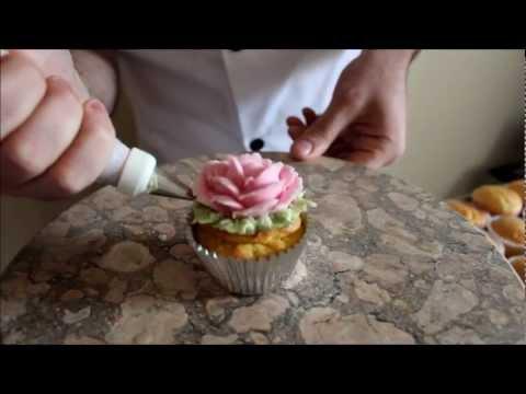 How to make a Sugar Rose Cake & Cupcake Decorating Tutorial